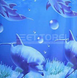Dušikardin 180x200 cm Delfiin ettorel.ee